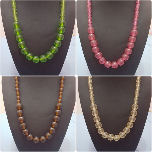 4 Bead Necklace from Bali