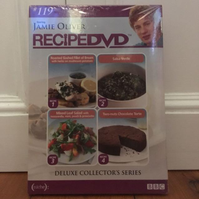 FREE SHIPPING* Jamie Oliver Recipe DVD