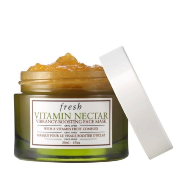Fresh Vitamin Nectar Face Mask (30ml travel size) and available in 100ml