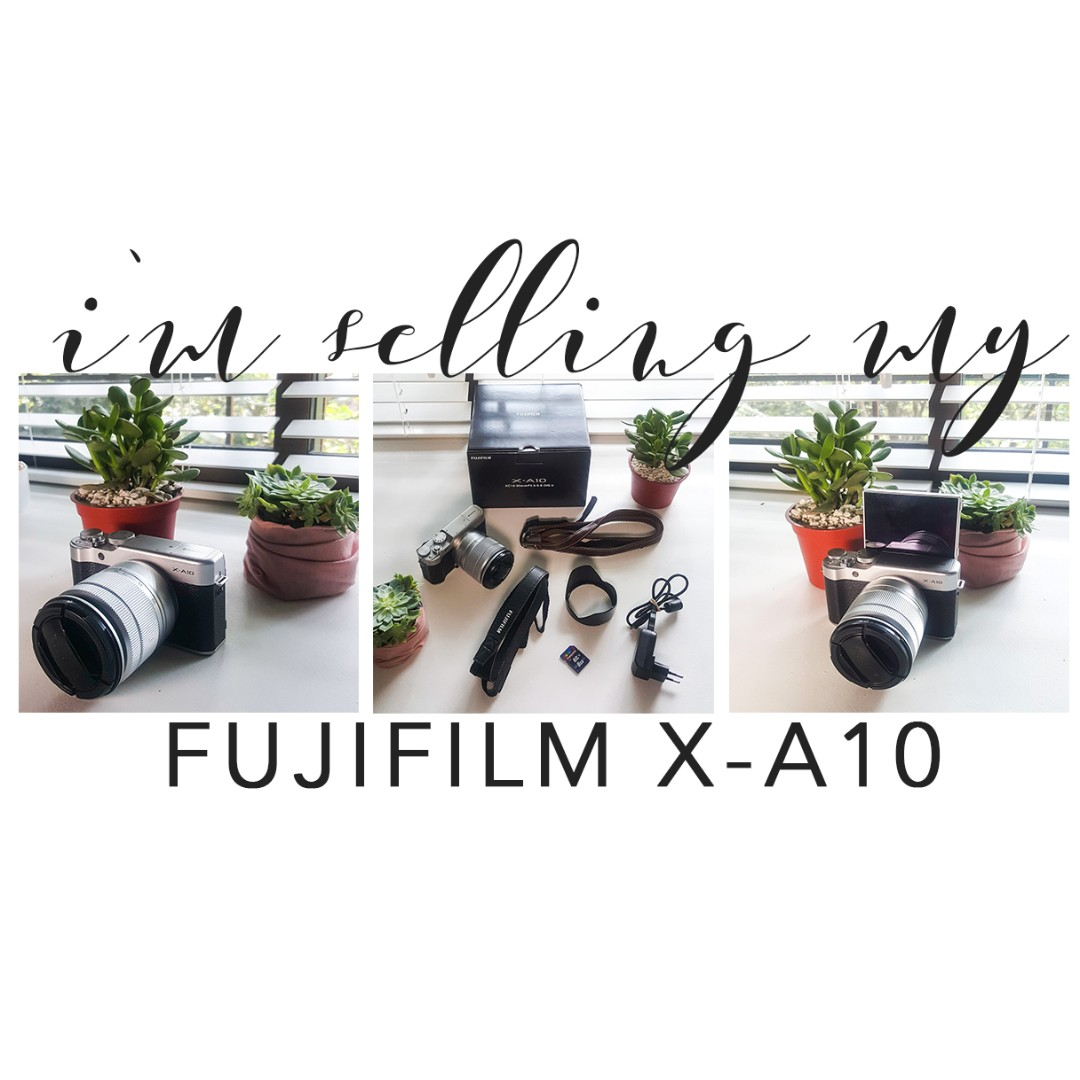 NEW SALE PRICE!!! RUSH! Fujifilm X-A10 Mirrorless Camera (Barely Used!)