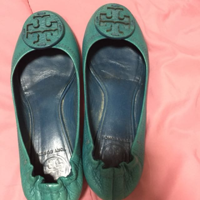 95b830853 Further Reduce Price -Tory Burch - Turquoise Color (Pre-Loved ...