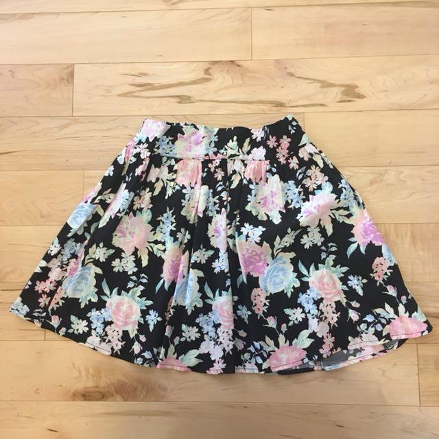 Garage floral skirt