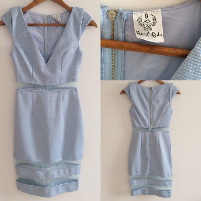 Good as new Angel Biba Mesh Dress