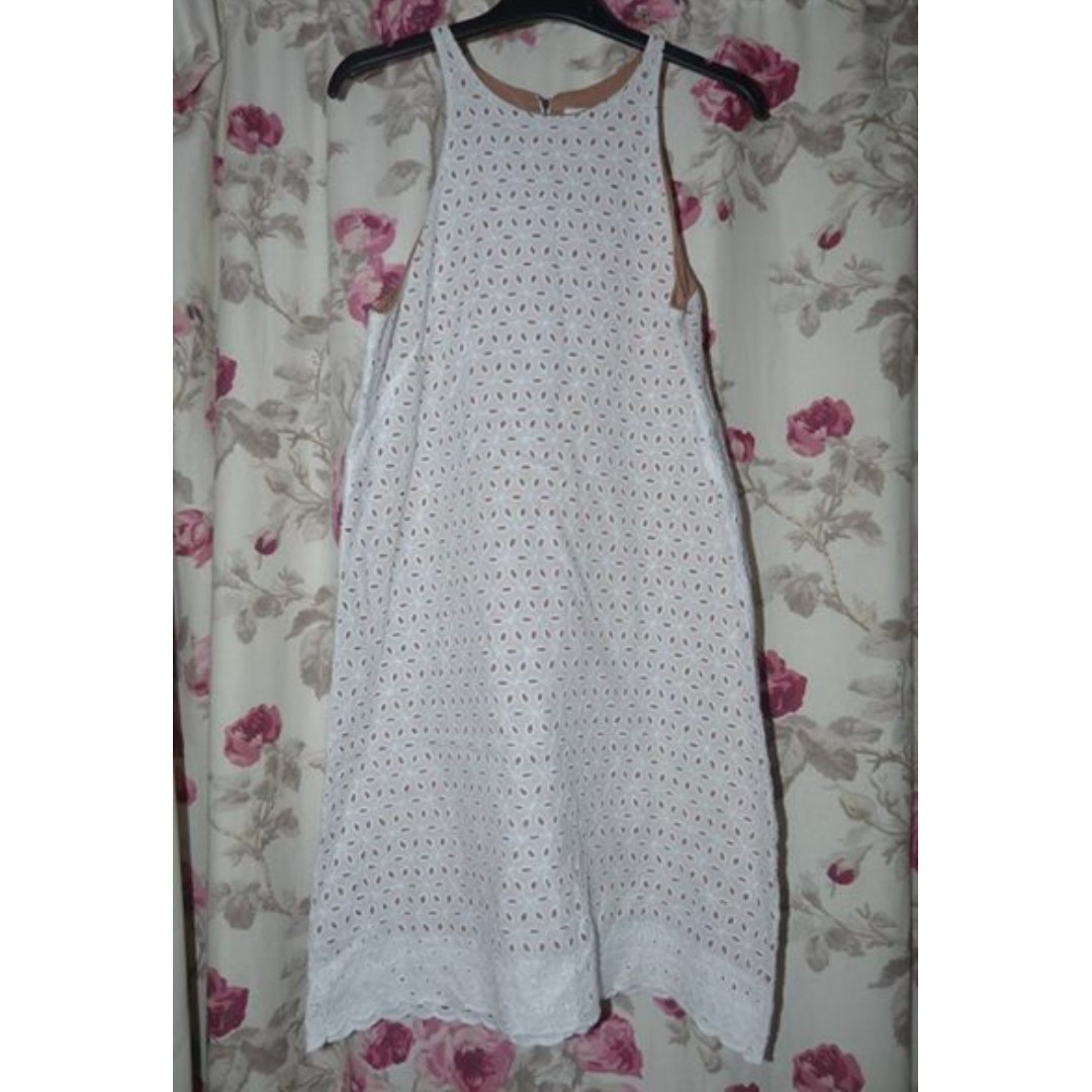 Gorman size 12 Cotton anglaise dress