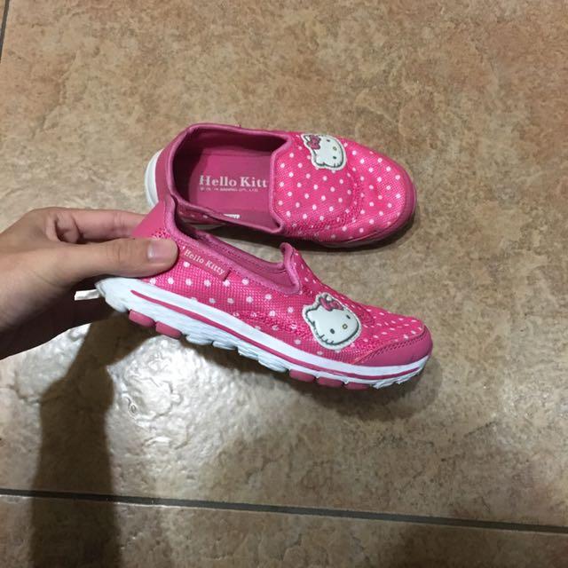 Hello kitty 粉紅 小包鞋 休閒鞋 懶人鞋