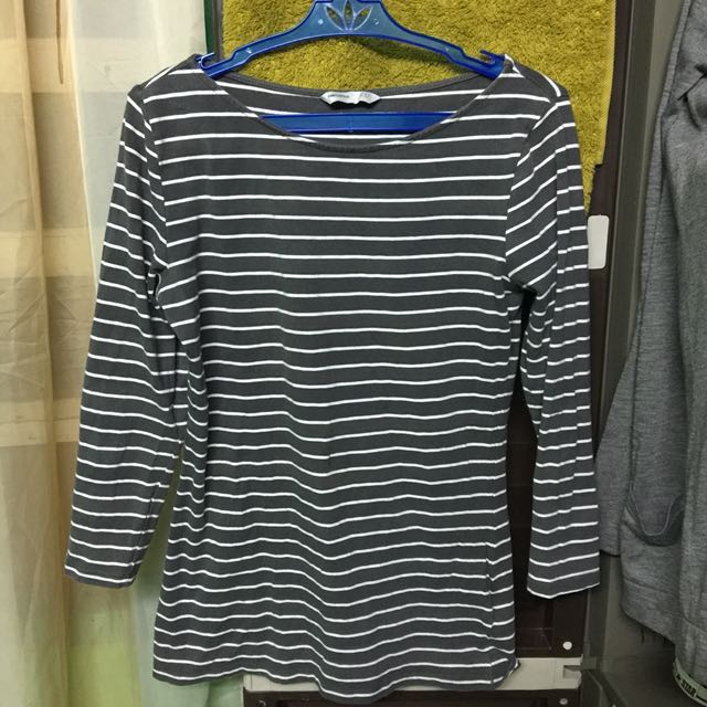 H&M 3/4 Sleeves (Gray)
