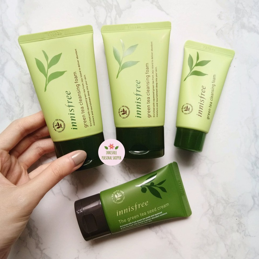 f21121c7bd5 Innisfree The Green Tea Seed Cream
