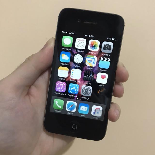 Iphone 4s Factory Unlocked 16GB Black