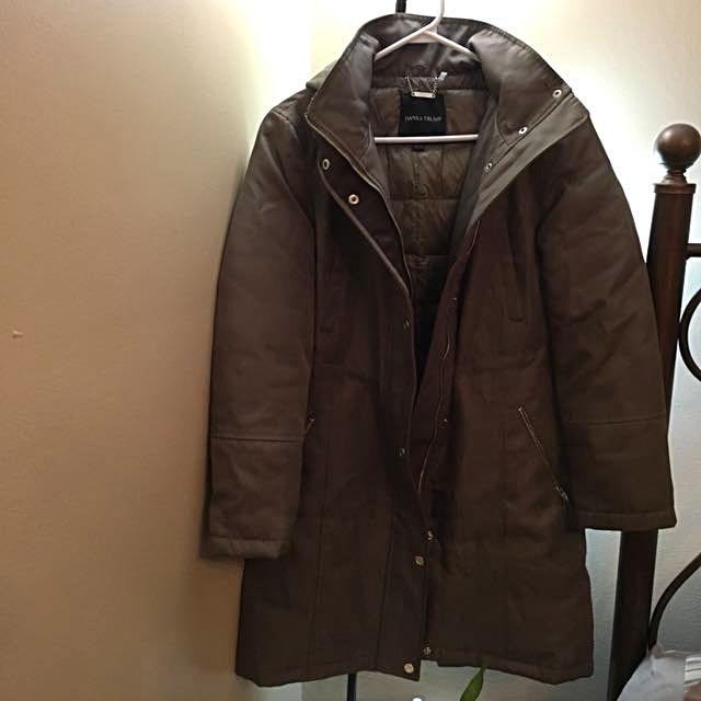 Ivanka trump winter jacket