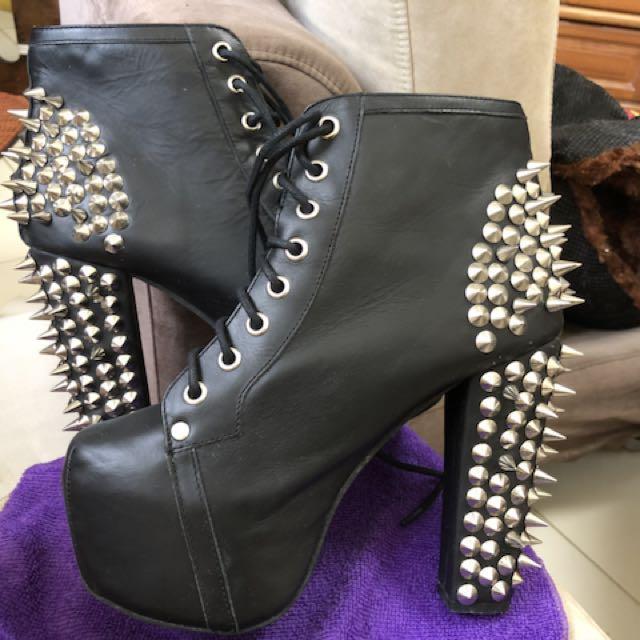 Jeffrey Campbell Lita Spike Heel Boots 795cc58de