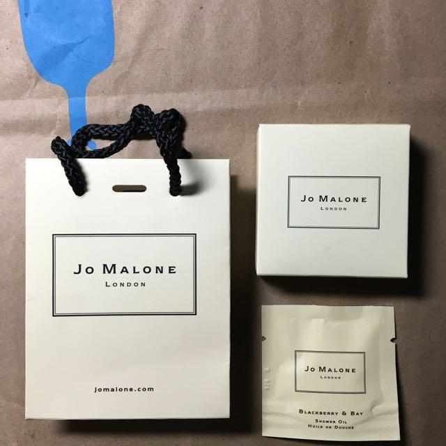 【英國】Jo Malone 黑莓與月桂葉 沐浴油 7ml