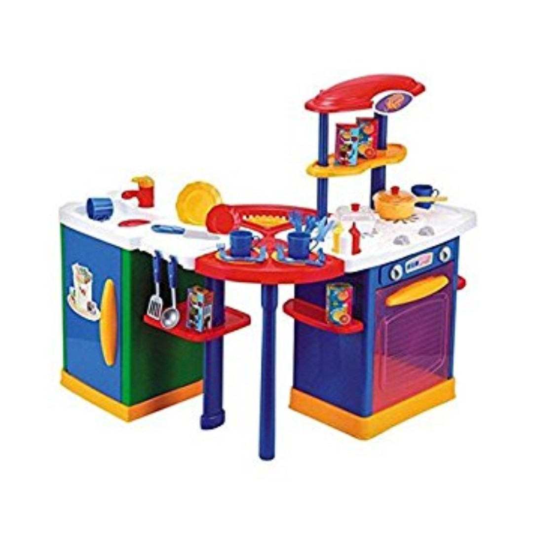 Just Like Home Mix N Match Kitchen Center Toys Games