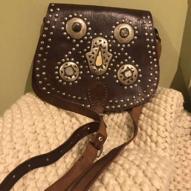 Leather Hippie Handbag