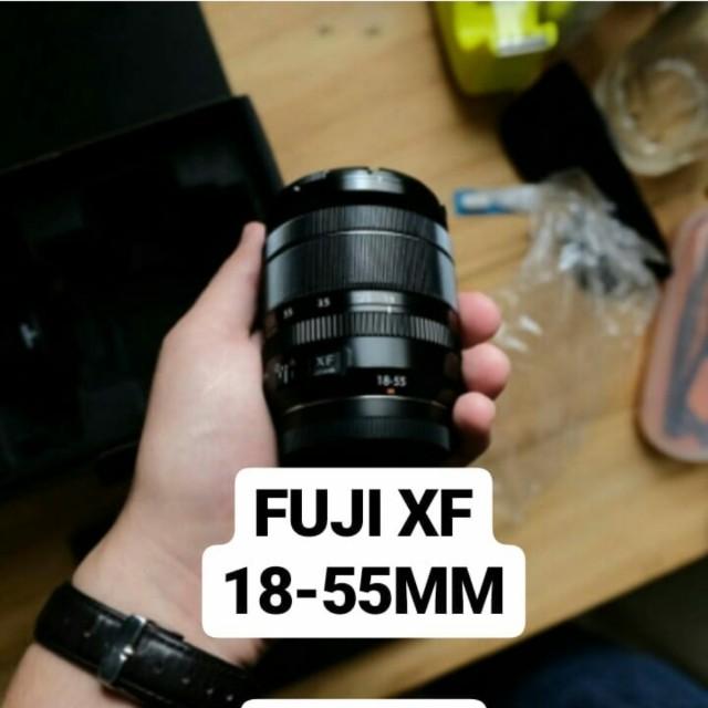 Lensa kamera fuji xf 18-55 mm