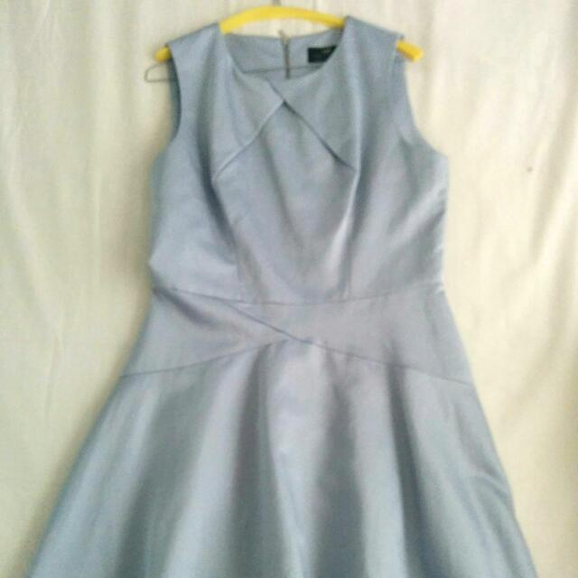 Light Blue/Grey Cue Dress