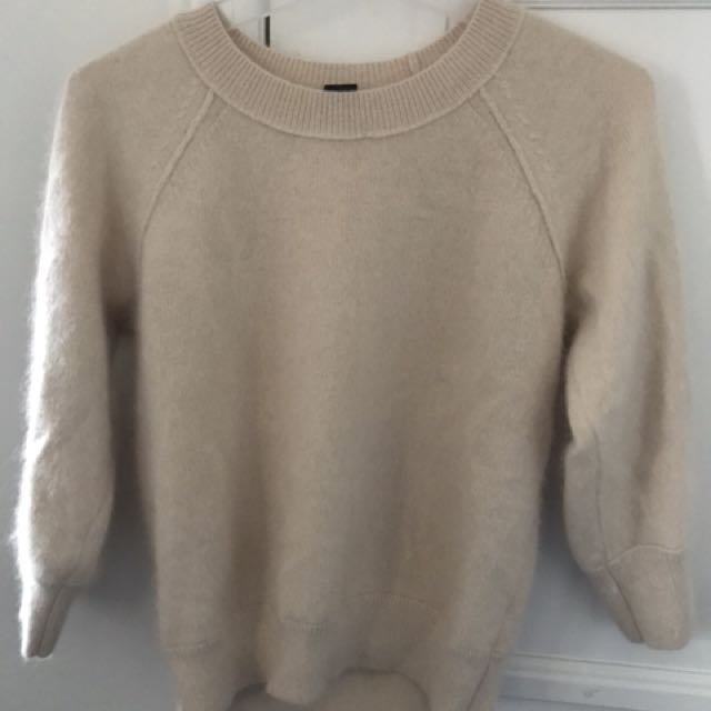 Light pink Club Monaco sweater, Small