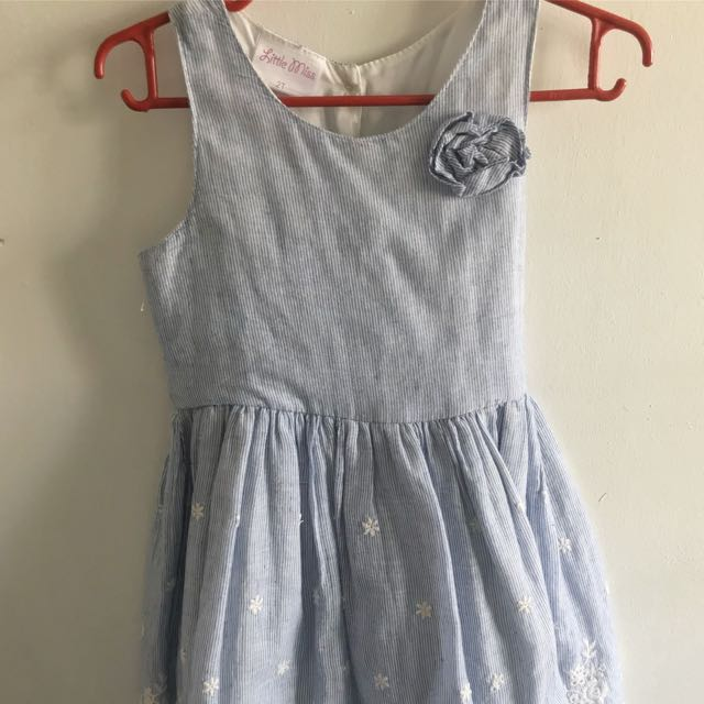 Little Miss Eyelet Dress