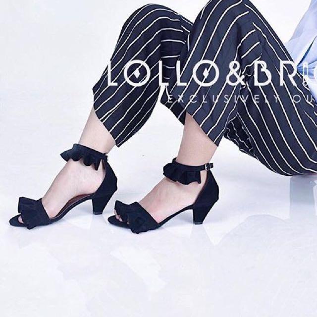 Lollo&brigida black shoes like zara