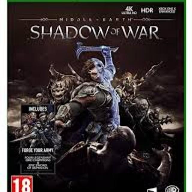 shadow of war LOTR