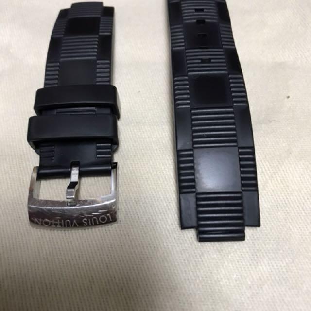 LV錶帶   橡膠材質