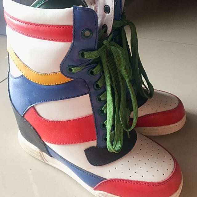 Marc Jacobs Hi Ankle Sneakers