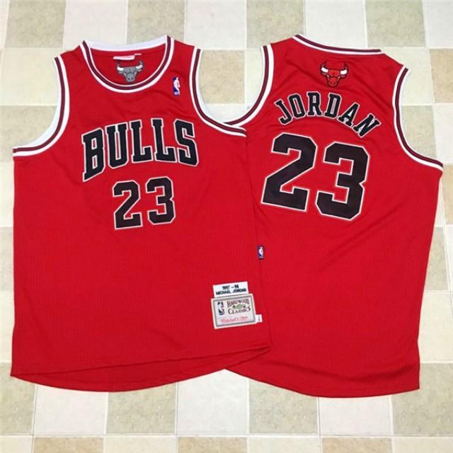 size 40 4ea52 cdf54 Michael Jordan Classic NBA Jersey (Authentic)