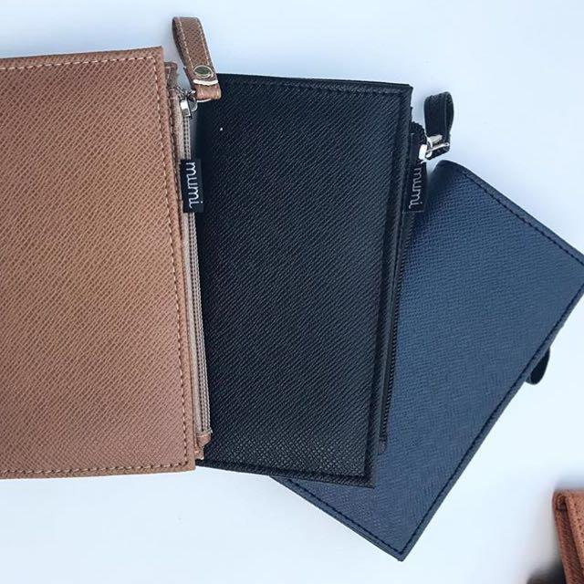 Mumi black wallet