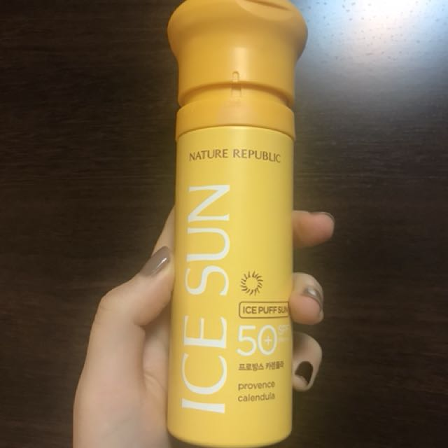 Nature republic ice sun 防曬