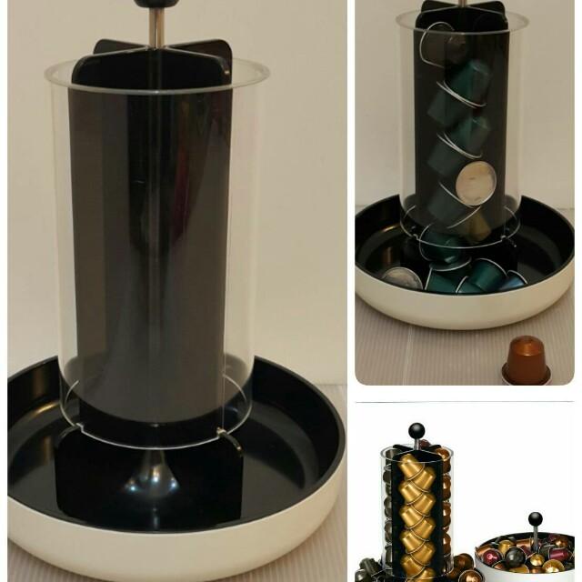 Nespresso VIEW Totem 2 in 1 膠囊展示架