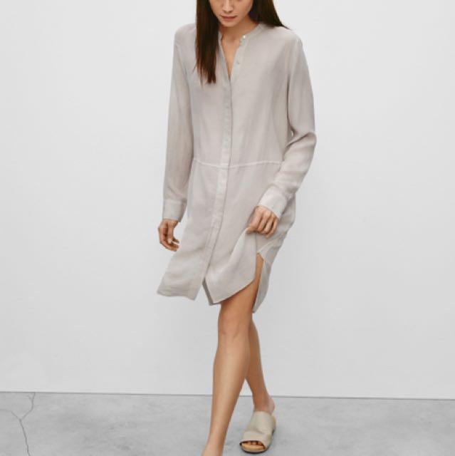 NEW WILFRED BOSSUT DRESS ASHEN