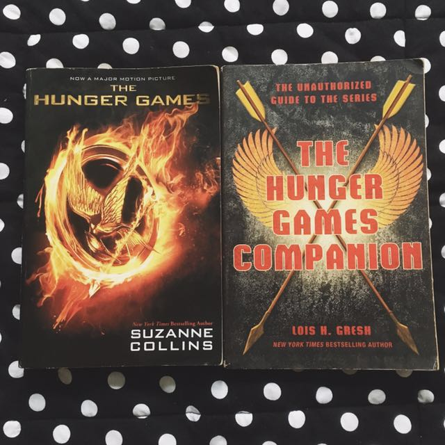 PAPERBACK BUNDLE: The Hunger Games by Suzanne Collins, The Hunger Games Companion by Lois H. Gresh