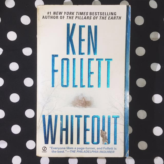 PAPERBACK: Whiteout by Ken Follett
