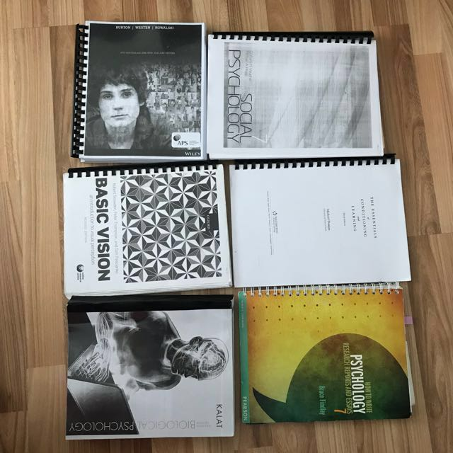 Photocopied and original psychology textbook university of photocopied and original psychology textbook university of wollongong uow books stationery textbooks on carousell fandeluxe Choice Image