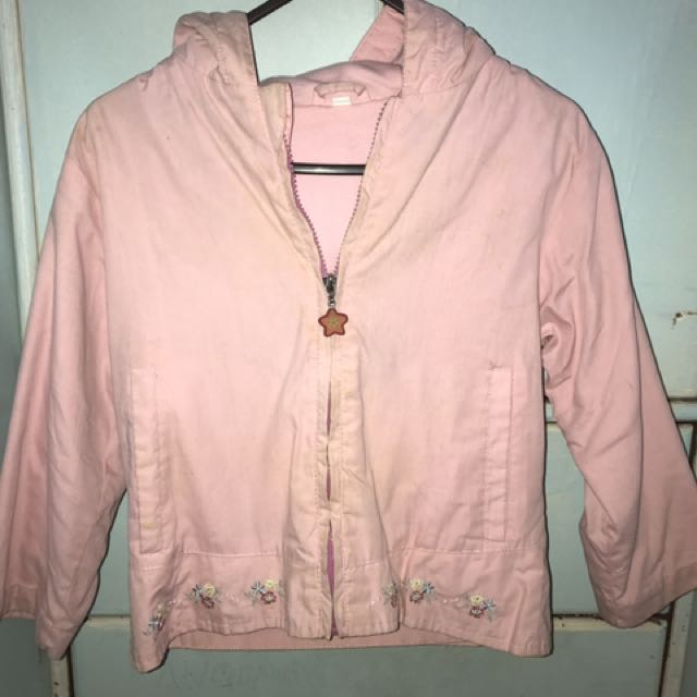 Pink Jacket With Hood
