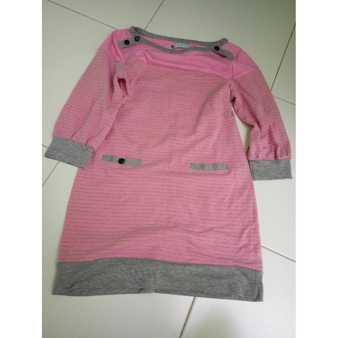 Pink Long Top #SpringClean60