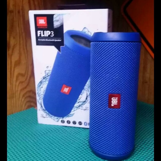 Pre-owned JBL Flip 3 Bluetooth speaker with warranty