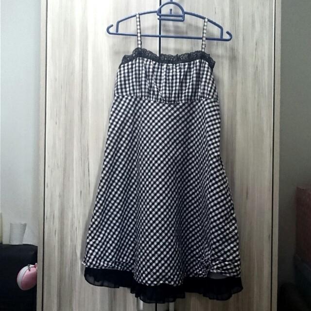 Pretty Gingham Dress