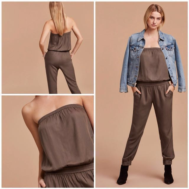 *Price Dropped* Aritzia Talula Army Green Jumpsuit (XS)