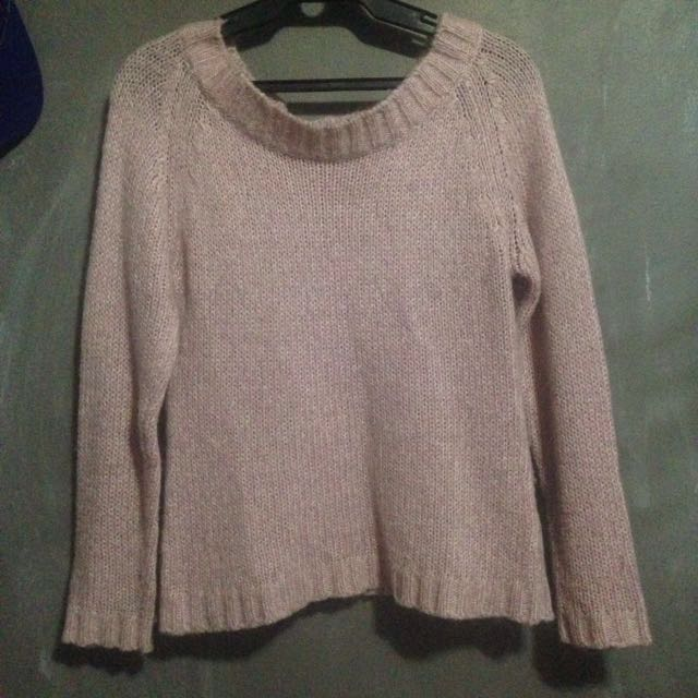 REPRICED: Pink Knitted Sweater