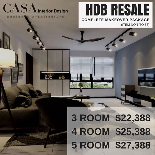 Resale 3 Room Home Reno Package Deal Best Price Guaranteed Home Services Renovations On Carousell