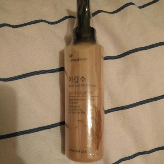 Rice water bright rice bran all-in-one cleanser