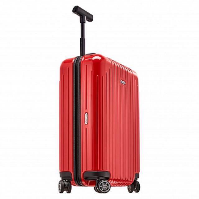Rimowa 紅色4輪登機箱