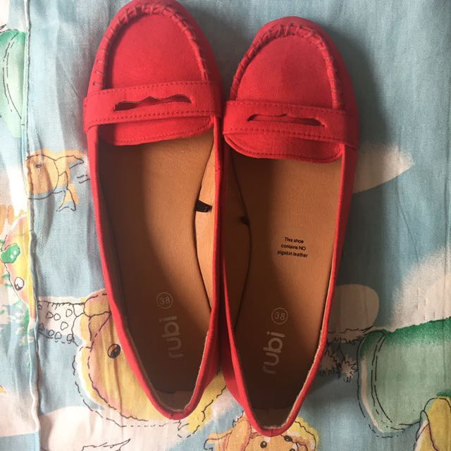 RUBI Red Loafers