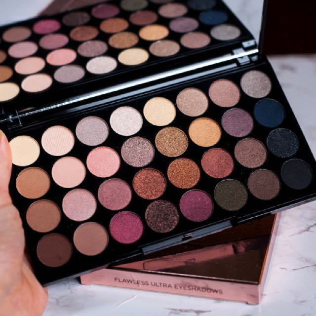 ... flawless ultra 32 eyeshadow palette by makeup revolution health beauty makeup on carousell · makeup revolution beyond ...