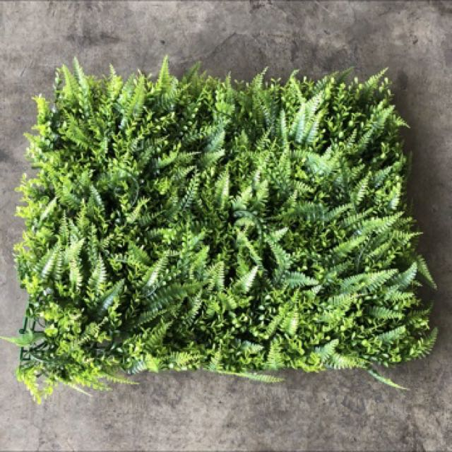 [Sellabrations] Artificial Turf Vertical Wall Feature Wall Plant Grass Leaves