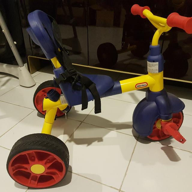 Sepeda Little Tikes 3 In 1 Pedal Trike
