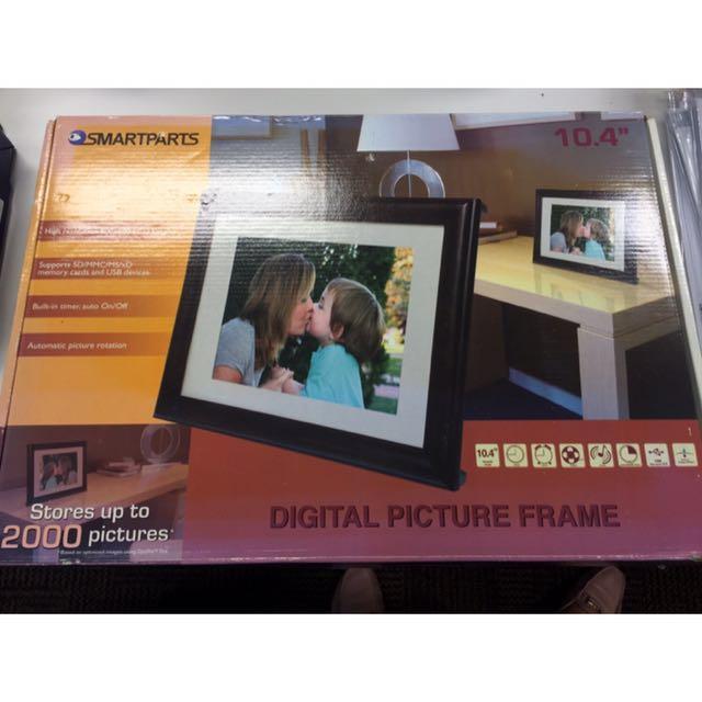 Smartparts Digital Photo Frame 104inch Furniture Home Decor On