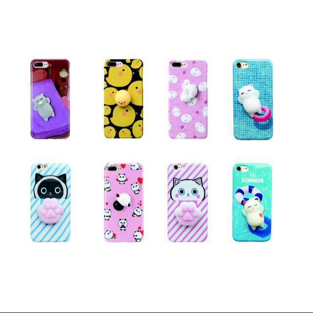 Squishy Case for Iphone & Oppo