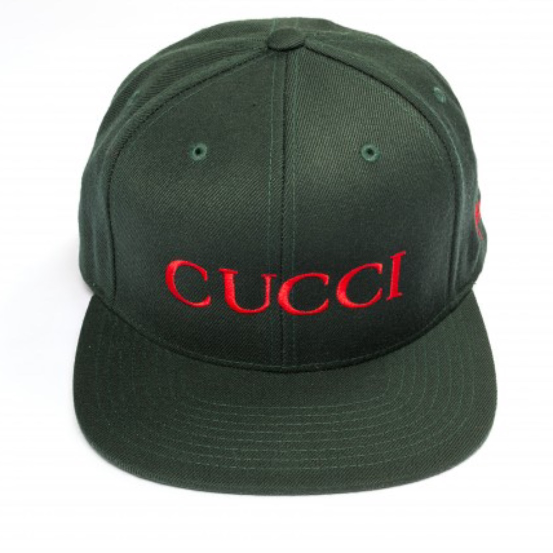 08502222955cf SSUR X Clot Cucci Forest Wool Collab Snapback Hat - Forest Green ...