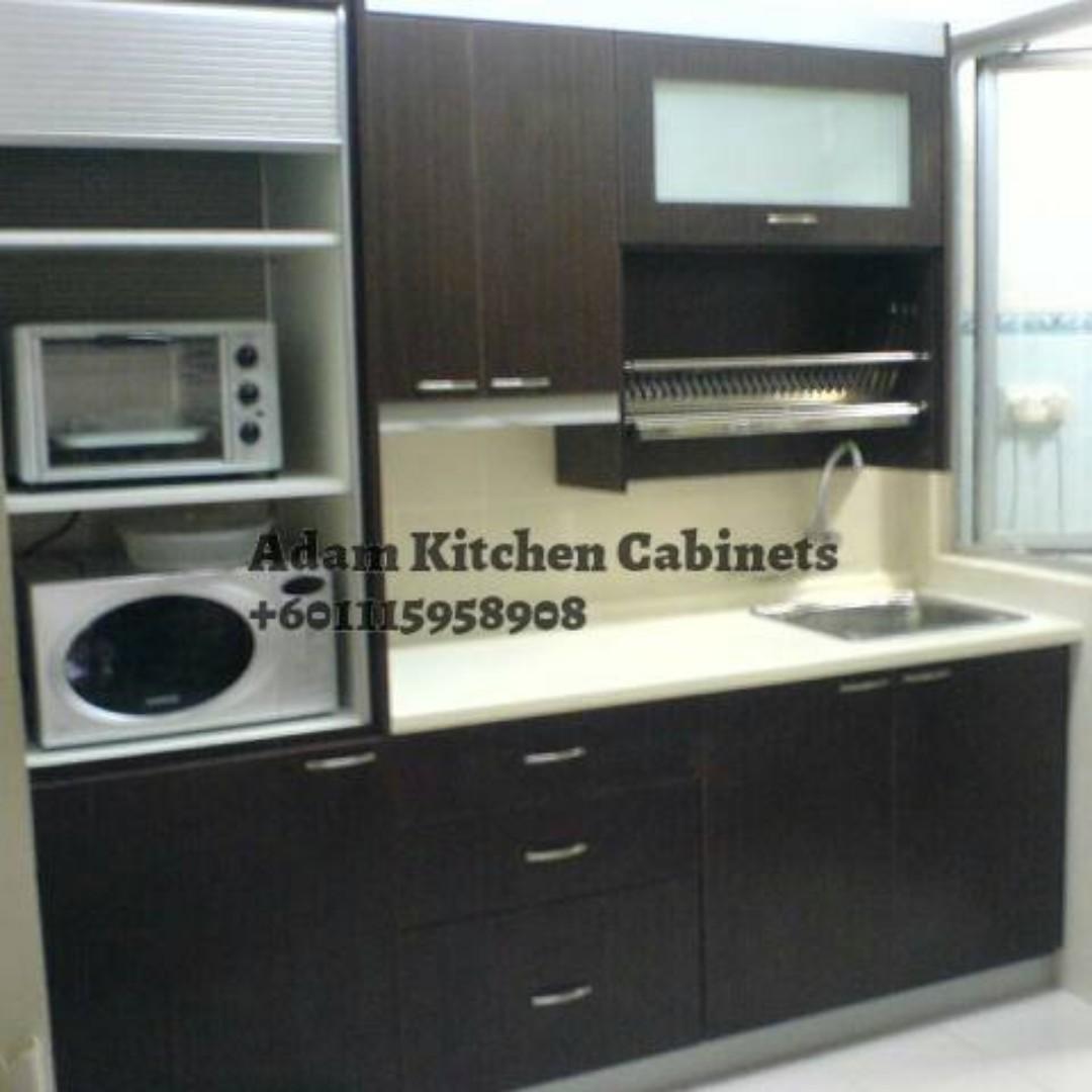 Tempahan Kabinet Dapur Murah Dan Cantik Rumah Perabot Di Carou